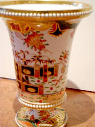 Spode Vases An Antique English Spode Porcelain Vase In The 967 Pattern For