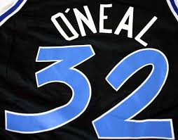 shaquille o u0027neal vintage orlando magic jersey from www