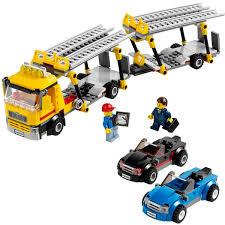 camion porta auto city camion da trasporto 60060 lego giocattolo eurekakids