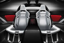 lamborghini car seat italdesign lamborghini parcour concept packs v10 power autotribute