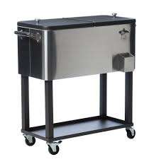 Outdoor Cooler Cart On Wheels by Top 10 Best Steel Coolers In 2017 Reviews