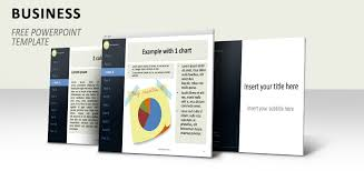 another simple business template for powerpoint