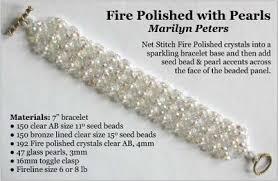 beading bracelet size images Bead patterns the magazine jpg