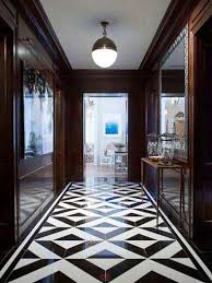 77 best black and white floor tiles images on room