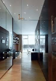 Glass Dividers Interior Design by Transparent Interior Design Enhancing Modern Apartment Ideas With