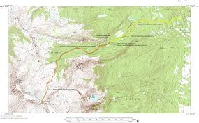 Colorado On The Map by Fryingpan Basin Trail Mount Zirkel Wilderness Area Colorado