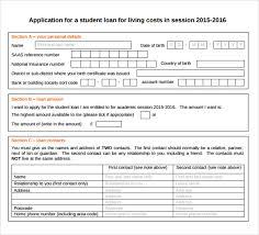 student loan template templates radiodigital co