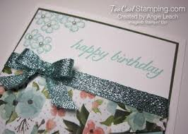 Wisconsin Drapery Supply Lovely Birthday Bouquet Drapery Fold Cards Too Cool Stamping