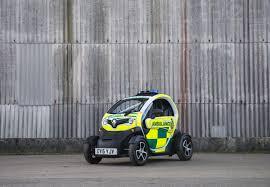 renault twizy renault twizy cargo ambulance unveiled