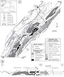 Quebec Canada Map Syncollisional Basin Development In The Appalachian Orogen U2014the