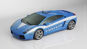 Lamborghini Gallardo Blue - artstation lamborghini gallardo nail khusnutdinov