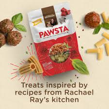 rachael ray nutrish pawsta dog treats riggies stuffed with beef