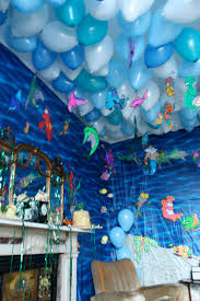 Home Party Decoration Top Little Mermaid Birthday Party Decoration Ideas Images Home