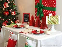 simple christmas table settings dining table ideas for christmas dayri me