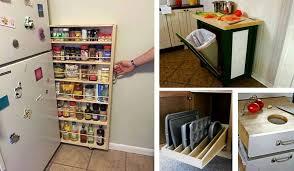 Kitchen Space Saving Ideas إبتكارات ديكور Decor Lead Wonderful Space Saving Kitchen Storage