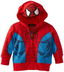 amazon spiderman boys u0027 hoody toddler red 2t clothing