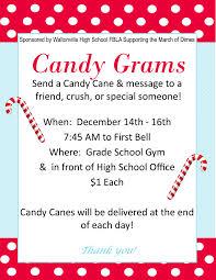 send a gram wcusd1 candy gram sales dec 14 16 sponsored by the whs fbla