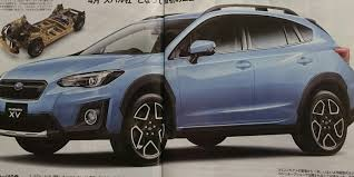 2017 subaru crosstrek colors 2017 subaru xv leaked in japanese media photos 1 of 4