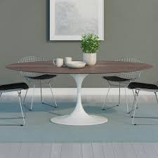 oval dining room tables tulip oval dining table
