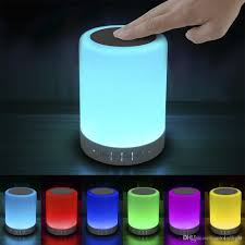 Led Bedside Lamp 2017 Led Touch Bedside Lamp With Bluetooth Speaker Dimmable