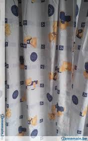tenture chambre bébé tentures bleues teddy chambre enfant bébé avec ruflettes a vendre
