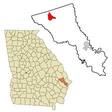 Georgia Zip Codes Map by Pembroke Georgia Wikipedia