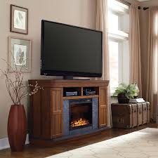 cherry wood electric fireplace tv stand style selections veneer
