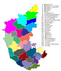 map belgum districts