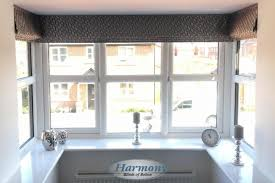 Bay Window Roller Blinds Portfolio Harmony Blinds Of Bolton And Chorley