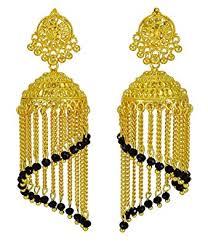 jhumka earrings uk traditional ethnic gold plated jhumka earring set indian new