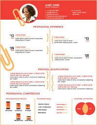 illustrator resume templates simple illustrator resume template free business