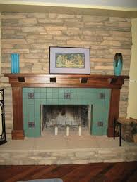 excellent backsplash tile around fireplace 47 for your with