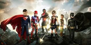 justice league disabled kids star in custom justice league photos