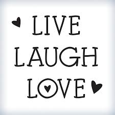 Live Love And Laugh by Laugh Wall Art Shenra Com