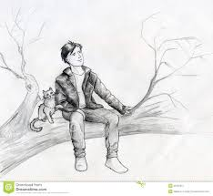 dreamers on the tree stock illustration image of branches 30799611