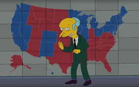 2016 Presidential Usa Election Prediction Electoral Map people think