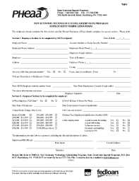 Sle Request Letter For Employment Certification Employment Verification Form Template For Android Fill Online