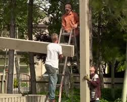 Attached Pergola Kits by Attaching An Attached Diy Timber Frame Pergola Kit Over A Deck