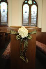 Pew Decorations For Wedding 205 Best Church Flowers Images On Pinterest Church Flowers