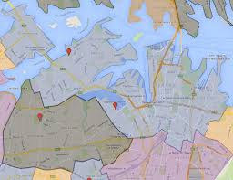 Sydney Map Sydney Secondary College Blackwattle Bay Campus Catchment Map