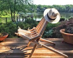 Porch Chair Ash Blend Pioneer Chair Patio Deck Dock Wood Folding