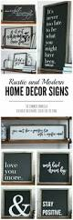 rustic home decor signs create your own cottage chic farmhouse