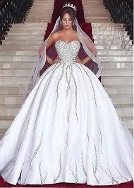 sweetheart neckline wedding dress buy discount brilliant satin sweetheart neckline waistline