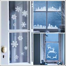 Window Christmas Decorations by Christmas Decorating For Windows Peeinn Com