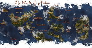 Cool Maps The Wertzone Cool Malazan World Map