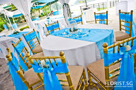 blue wedding decorations for the tables home act
