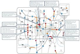 Twin Cities Map X Games Closures Top Twin Cities Weekend Road Woes Minnesota