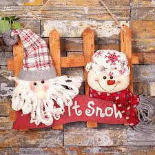 christmas home decoration accessories door hanging decoration