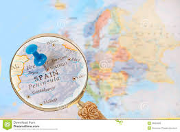Map Of Madrid Spain by Looking In On Madrid Spain Stock Photo Image 50624699