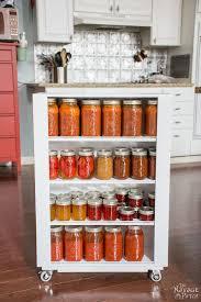 space hacker diy rolling jar storage kitchen ideas kitchen and diy